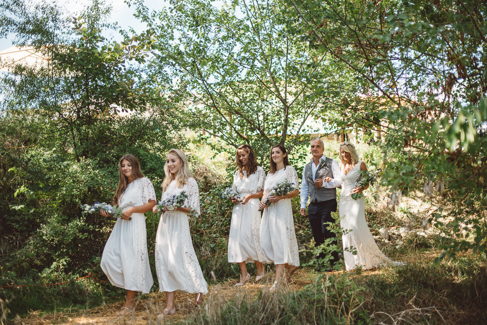 Outdoor Country Weddings In France At Chateau De
