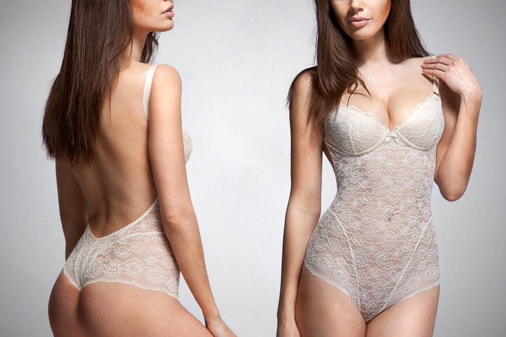 ENDERLEGARD.com UMA backless bodice (ivory)