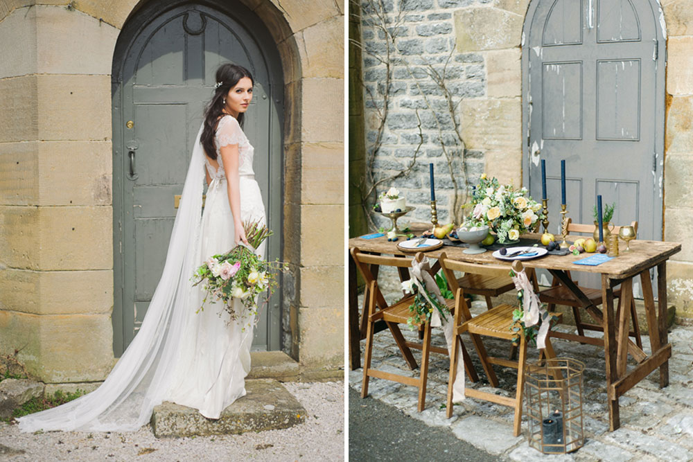 Rustic Ethereal French Chateau Inspiration Shoot by Emma Pilkington