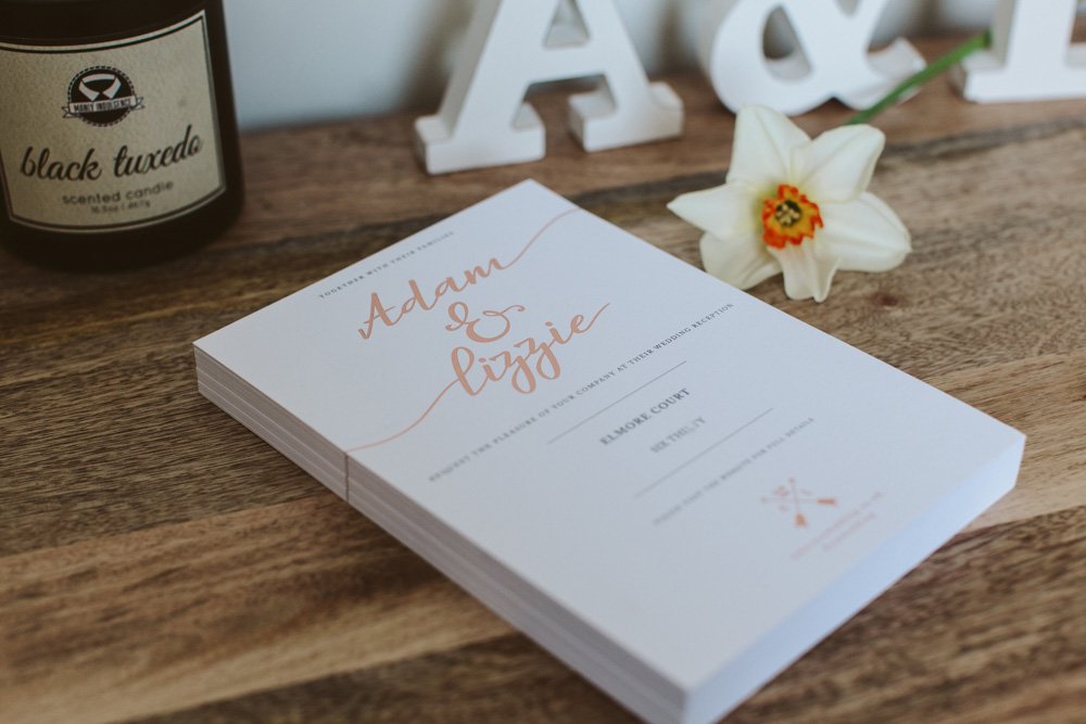 Planning your wedding gift list, venue and invitations