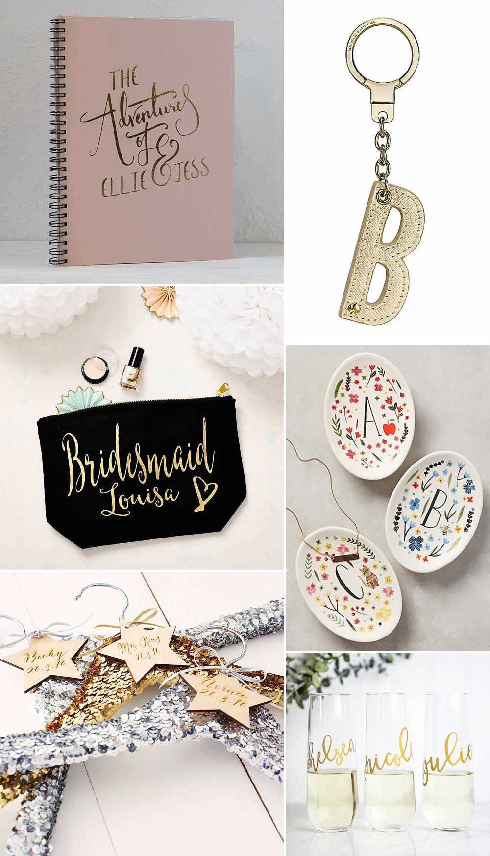 Wedding Gift Ideas Uk: The Best Bridesmaids Gifts Ideas & Thanks You Presents UK
