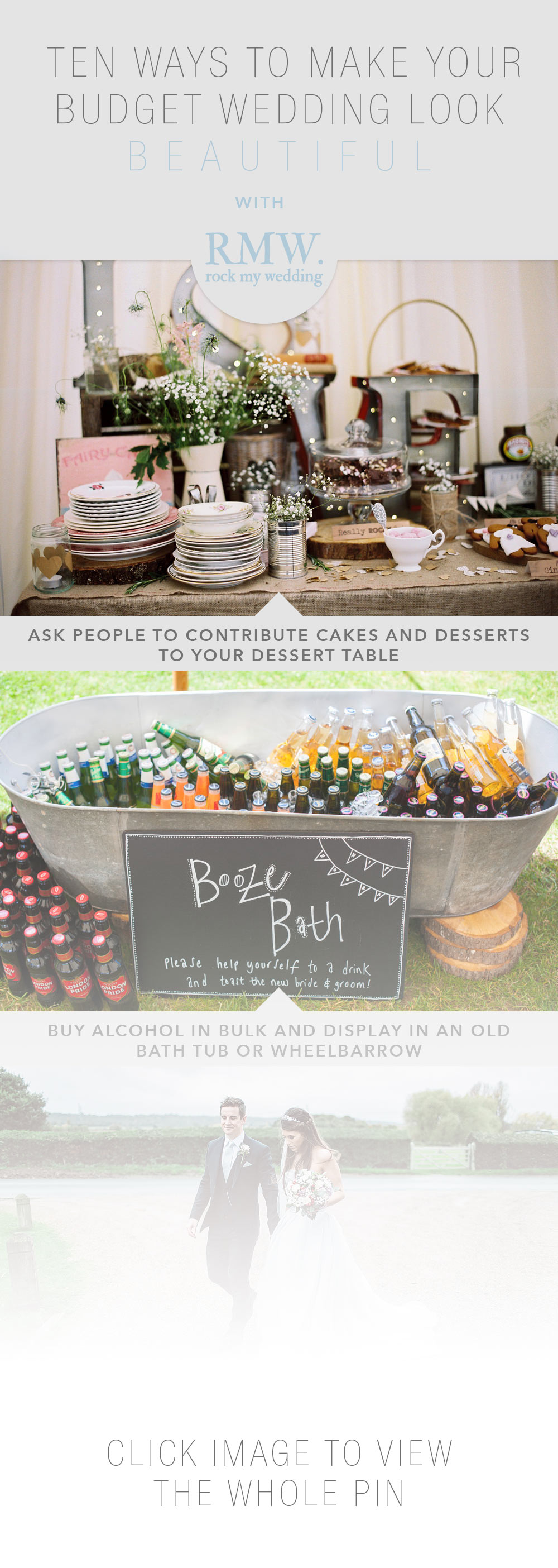 10 ways to make your budget wedding look beautiful