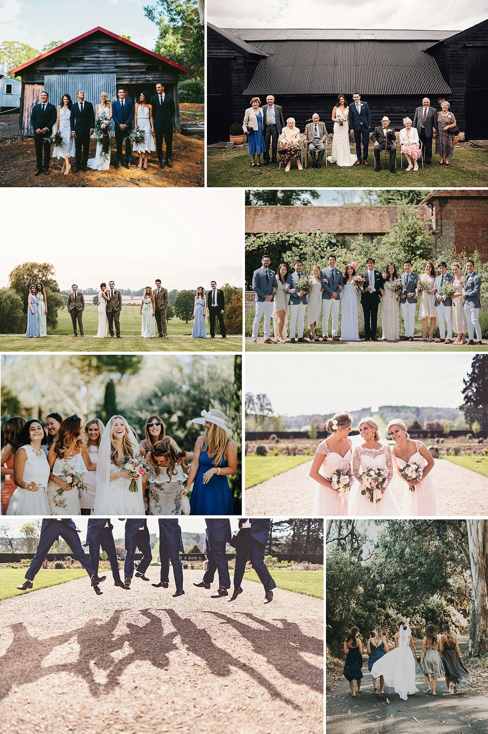 Fun & Relaxed Wedding Group Portraits