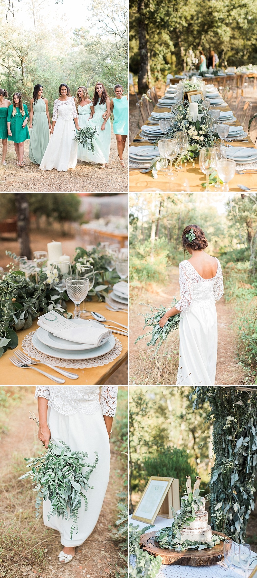 Greenery & Foliage Nature Filled Destination Wedding at Luz Houses in Portugal by Maria Rão Photography