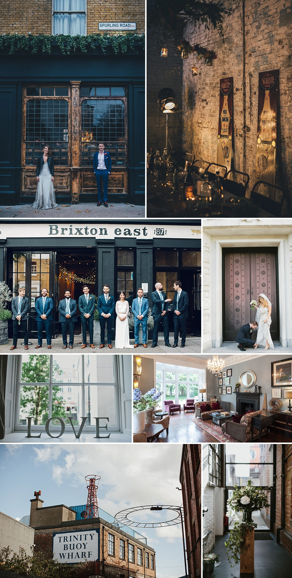 City Wedding Venues // The Love Lust List