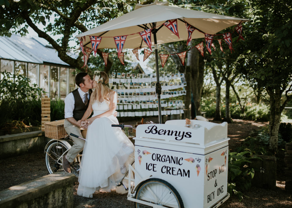 Real Enchanted Garden Wedding Kelly Steve: Woodland Themed Wedding In A Greenhouse Enchanted Brides Photo