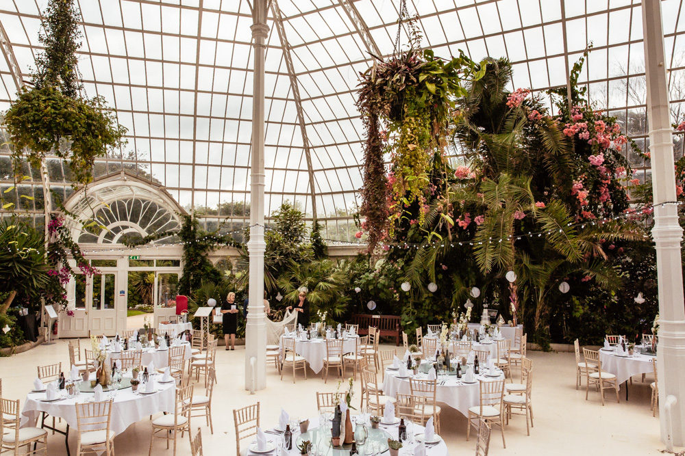 botanical wedding at sefton park palm house with anna