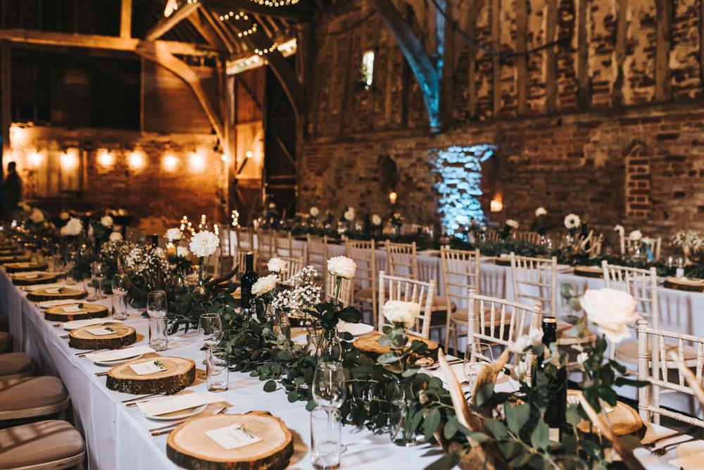 Rustic Barn Wedding At Helmingham Hall Gardens In Suffolk