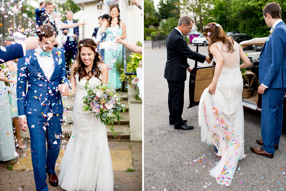 Neiman Marcus Wedding Gifts: Multicultural Mint Wedding At Finchcocks Oast, Kent With