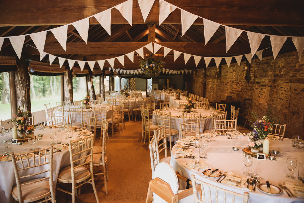 Rustic Wedding At Dewsall Court Herefordshire Outdoor Ceremony