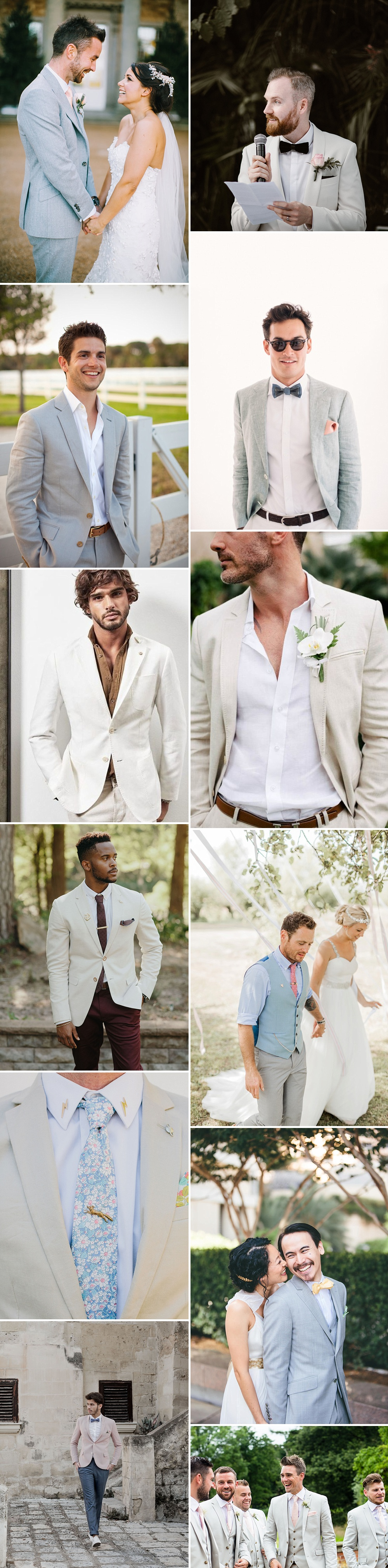 d0476b55b Groom Wearing Light Coloured Jacket For Wedding | Groom Fashion Inspiration