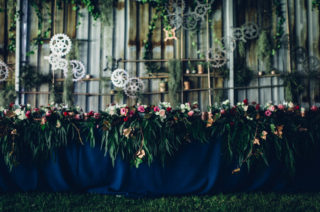 Tayne & Wade Steampunk Farm Wedding by Andy & Szerdi Photography