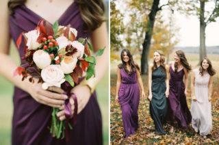 Autumnal Bridesmaids Trends