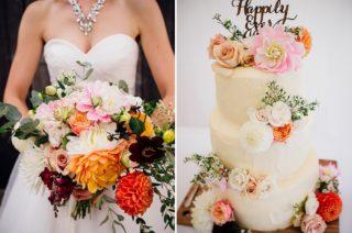 Dahlia Wedding Inspiration