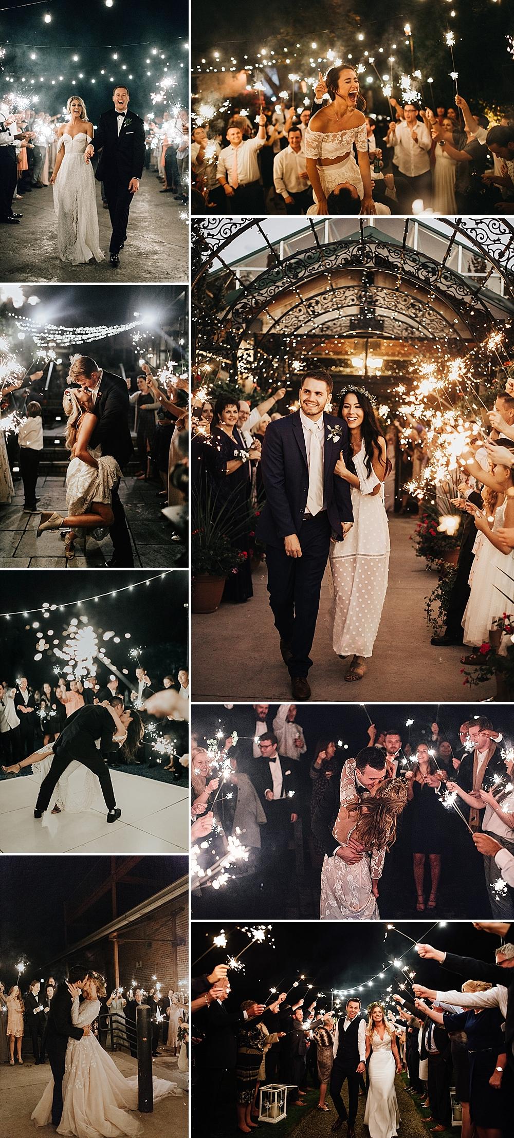 Sparkler Send Off For Wedding How To Coordinate