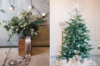 10 Tips For A Stylish Winter Wedding How To Have A Christmas Wedding With Style Seasonal Wedding Styling Festive Wedding Ideas