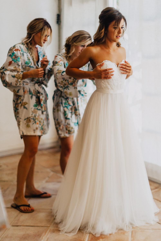 Morning Beach Wedding Dress