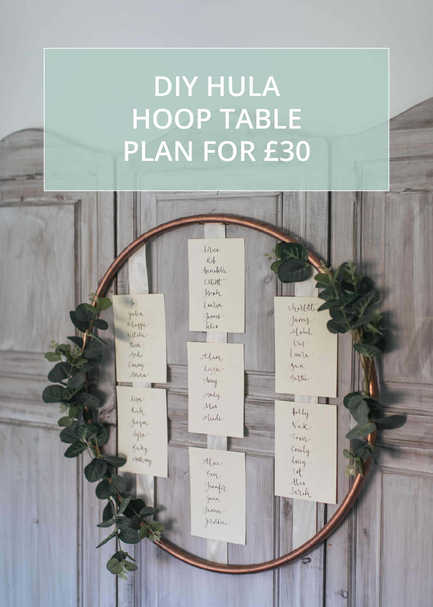 Hula Hoop Table Plan Diy Make Your Own For 163 30