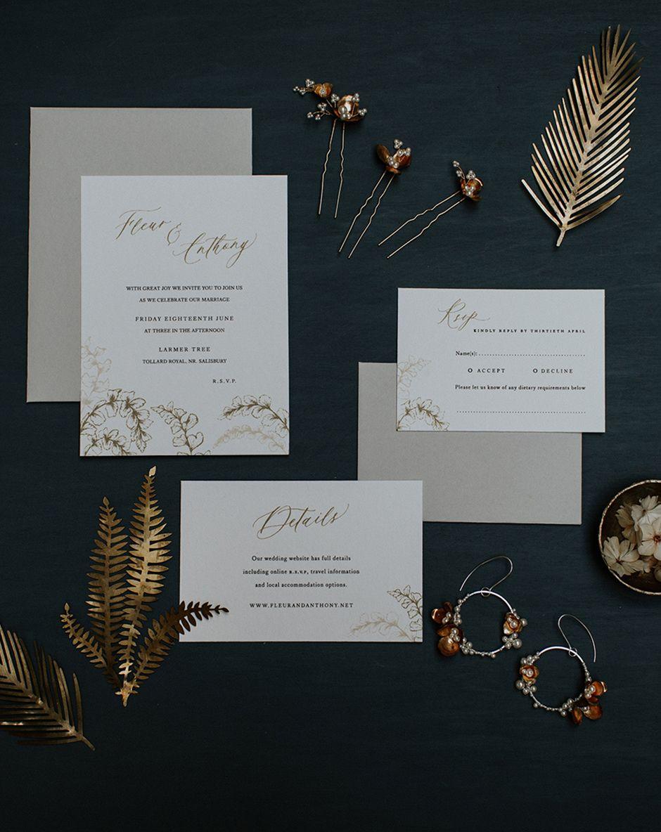 inkflower press inkflower press elegant botanical wedding stationery