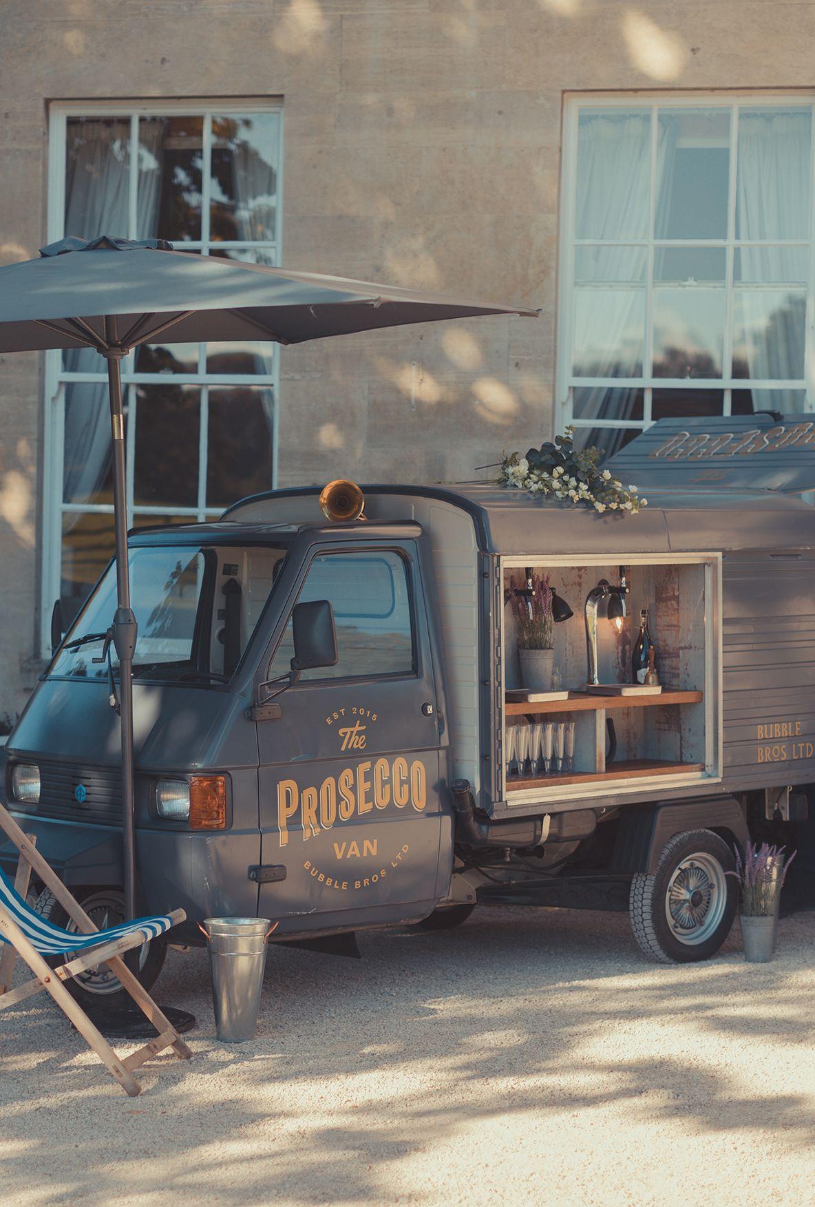 bubble bros prosecco vans and wedding bars rmw van profile
