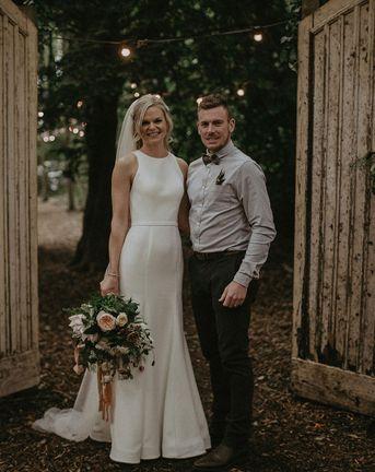 Lila's Wood Wedding