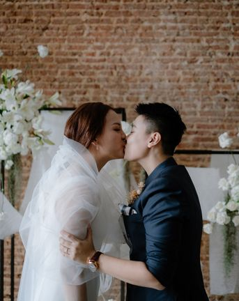 asian lesbian wedding