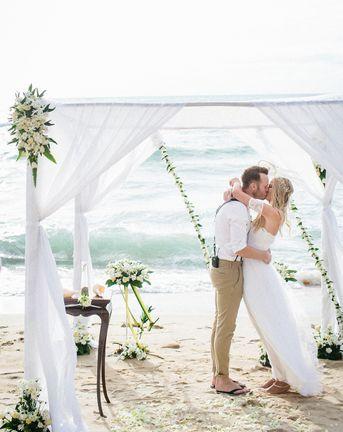 beach weddings roundup on rock my wedding