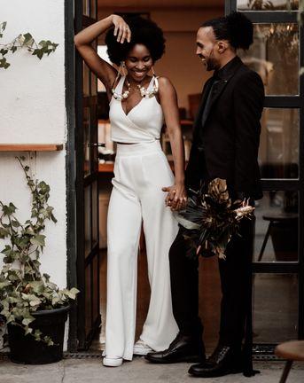 Black & White Wedding Decor