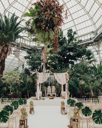 glass house wedding venues