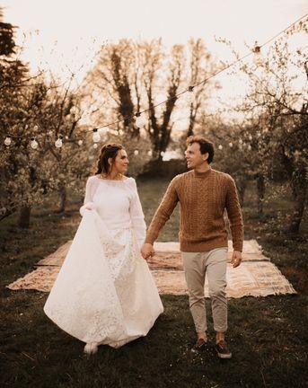 Casual wedding attire