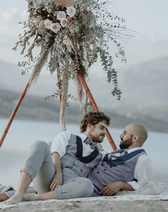 Gay Couple Goals at this Spanish Elopement