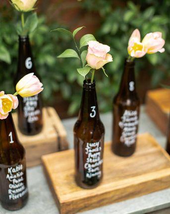 Bottle Table Plan