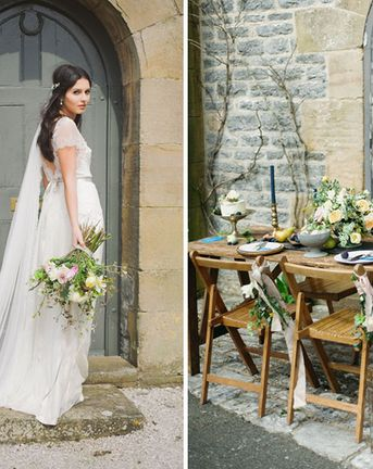 Rustic Ethereal French Chateau Inspiration Shoot