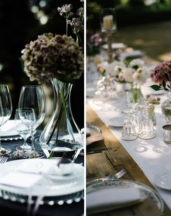Outdoor Entertaining With The Wedding Shop