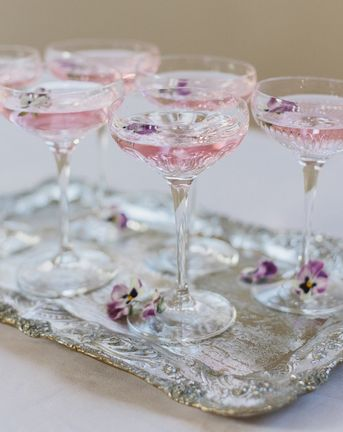 Gin Cocktails {With The Wedding Shop}