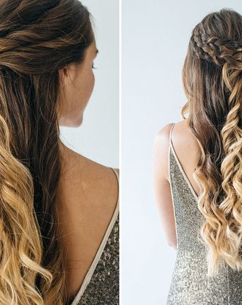 Gorgeous Half-Up Half-Down Hairstyles For Your Wedding Day