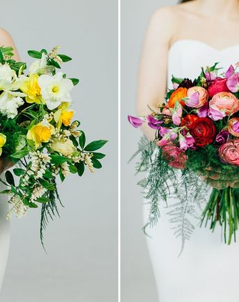 Beautiful Bouquets For Spring Weddings
