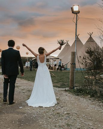 Everything You need To Know About Planning a Tipi Wedding with World Inspired Tents