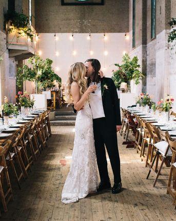 Dilston Grove London Wedding With Bride In Hermione De Paula