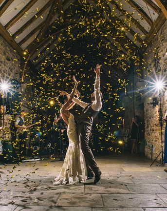 Confetti Cannon {Make Your Wedding Day Go Off With a Bang!}