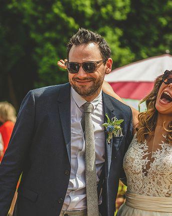 Pennard House Outdoor Country Garden Wedding | Summer Wedding | Grey/Silver ASOS Maya Bridesmaid Dresses Howell Jones Photography