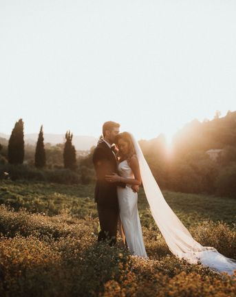 Intimate Italian Castle Wedding with Prosecco Tower | Pallas Couture Wedding Gown | Wiskow & White Wedding Planning | James Frost Photography