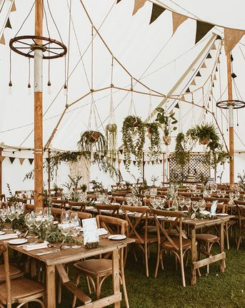 Forest Themed Wedding