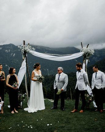 French Alps Wedding
