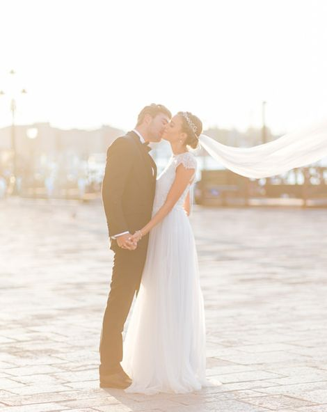 Ethereal Lovers In Venice