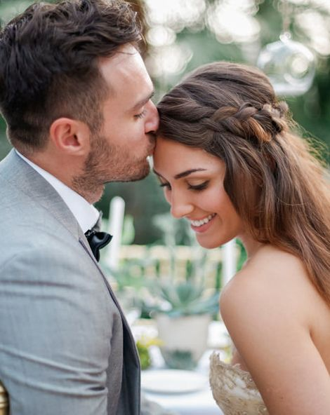 A Botanical Wedding Inspiration Shoot Filled With Greenery