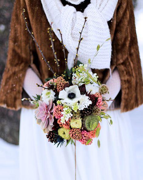 Winter Wedding Ideas from the Pyrénées