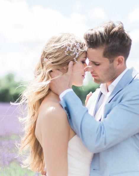 Romantic Lavender Fields