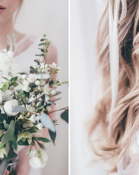 Delicate Botanical Shoot With Gorgeous Bridal Separates