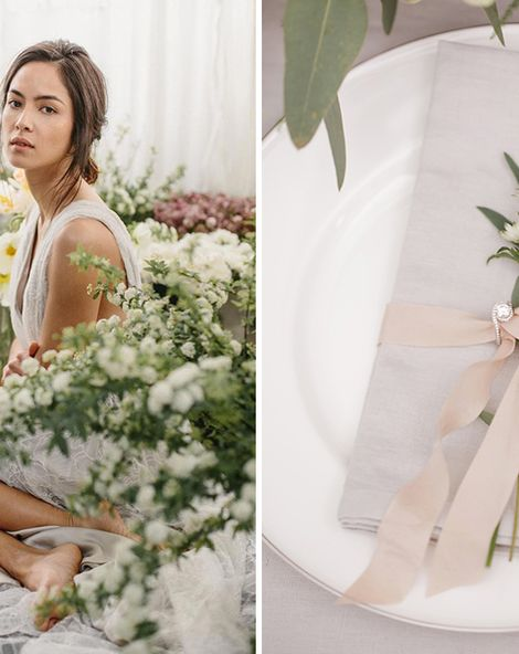 Using Dovetail Grey In Your Spring Wedding